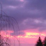 Sonnenaufgang Frankfurt