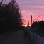 Sonnenuntergang Dezember 2012