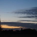 Sonnenuntergang Bewoelkt